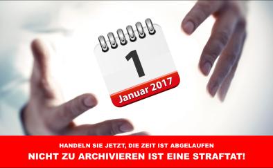 Archivierung nach GoBD – Jetzt gelten neue Richtlinien!