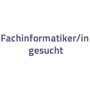 Fachinformatiker/in gesucht